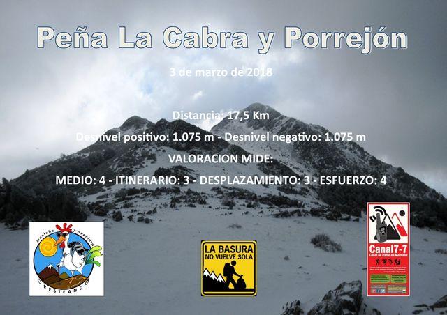 Peña La Cabra y Porrejón