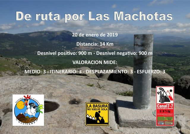 De ruta por Las Machotas