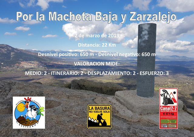Machota Baja y Zarzalejo
