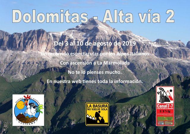 Dolomitas Alta Vía 2