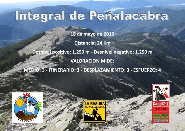 Integral de Peñalacabra