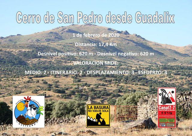 Cerro de San Pedro desde Guadalix