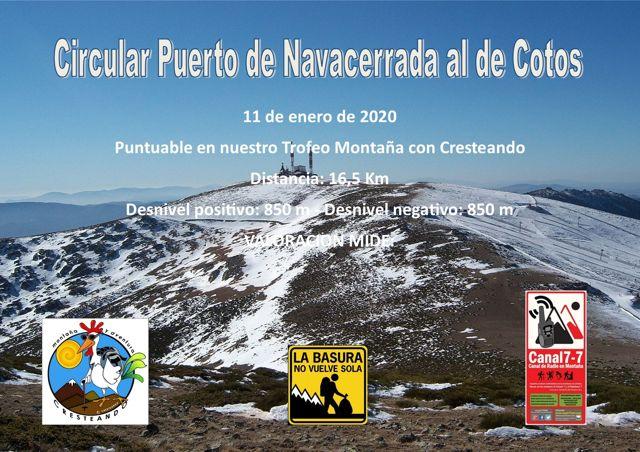 Circular Puerto Navacerrada al de Cotos