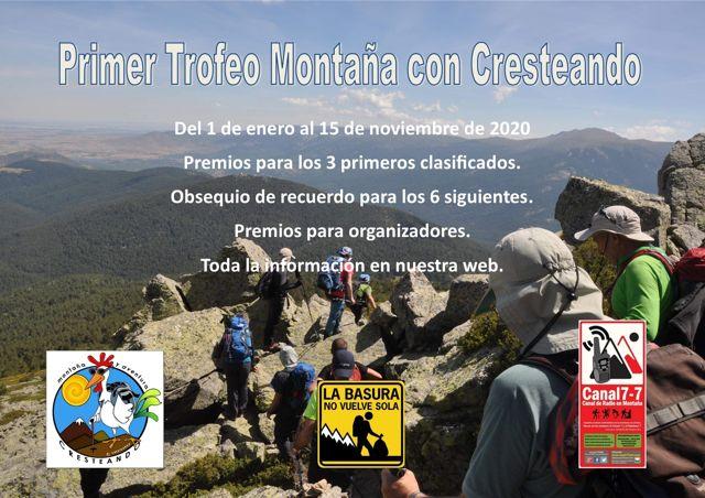 Primer Trofeo Montaña con Cresteando
