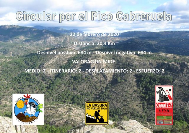 Ruta Circular Pico Cabreruela