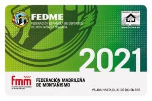 Licencia federativa montaña 2021